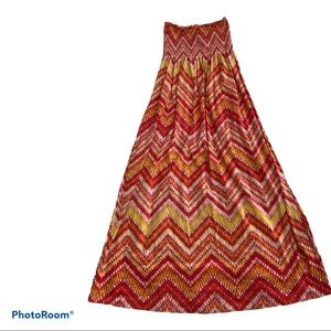 Nwot youth faded glory tube style flare dress